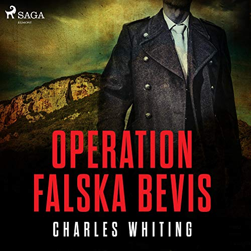 Operation Falska bevis audiobook cover art