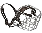 Dogs My Love Metal Wire Basket Dog Muzzle Rottweiler Large Male. Circumference 16.5', Length 4.5'