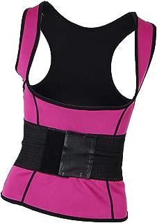Prettyia Sweat Body Shaper Womens Shapewear Vest Thermo Fat Burn Waist Trainer Cincher