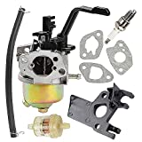 Harbot Carburetor for Power Equipment 3500 4000 Watts Gas Generator with Gasket Fuel Filter Line