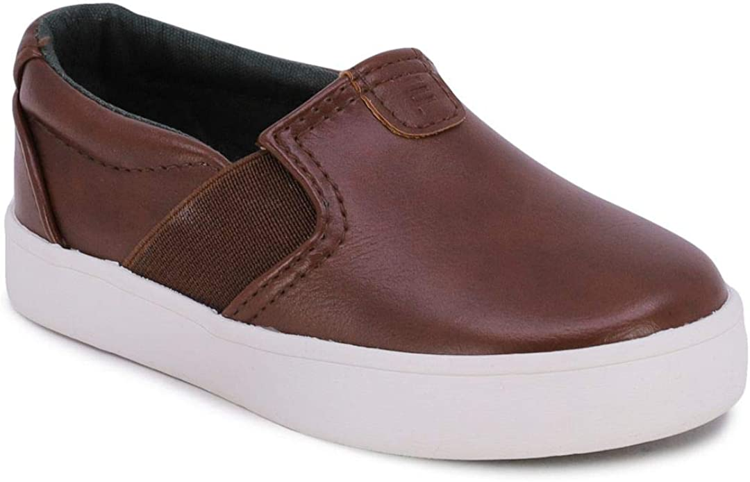 LONDON FOG Kid's Slip-On Casual Shoe Athletic Sneaker - Youth-Toddler Bakewell (Big Kid/Little Kid/Toddler)