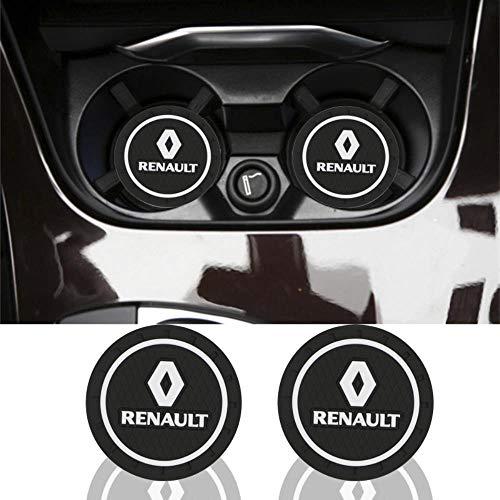 xiaobobo 2 stücke Auto-Styling PVC Silikon Auto rutschfeste Bahn Matte Fall Für Renault Megane 2 3 Staubtuch Logan Clio Laguna 2 Captur Zubehör