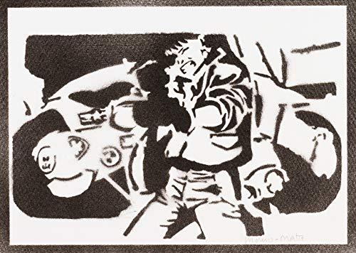 Shotaro Kaneda Akira Poster Plakat Handmade Graffiti Street Art - Artwork