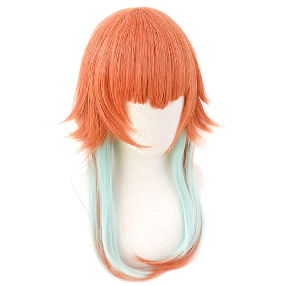 DAZCOS trust Recommended Hololive VTuber Takanashi Kiara Anime Cos Wig for Cosplay