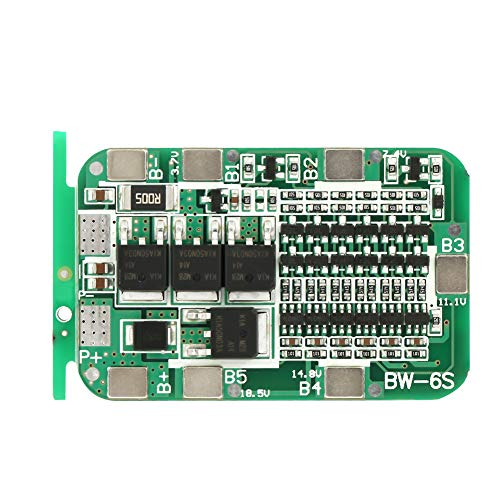 Batterieschutzplatine 6S 15A 22V 24V Lithium Batterie PCB BMS für 18650 Li-Ion Zelle