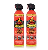 Fire Command Fire Extinguishing Aerosol Foam Spray Fire Suppressant, 16 oz - Pack of 2