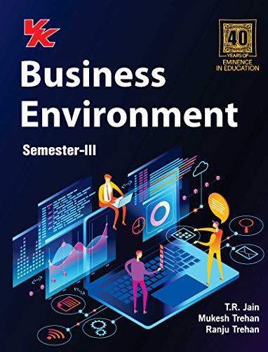 Business Environment B.Com 2nd Year Semester-III GNDU University (2020-21) Examination (English Edition)