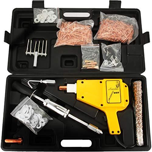 VEVOR Dent Puller Stud Welder Dent Repair Kit 230 V, 50/60 Hz Dent Abzieher Spot Welder Fahrzeug, 3,6A Dent Puller Punktschweißgerät, Ausbeulwerkzeug, Schweißgerät,Dellenlifter Punktschweißgerät