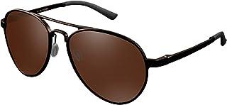 CHEREEKI Occhiali da Sole, Occhiali da Sole Polarizzati Uomo Donna con Protezione UV400 per Viaggi Guida Uso Quotidiano
