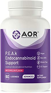 AOR, P.E.A.k Endocannabinoid Support, Reduce Inflammation, Pain Relief, Nervous System Support, 600 mg, 30 Servings (60 Lo...