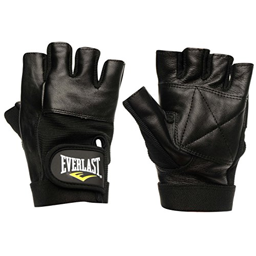 Everlast Hombre Leather Guantes De Fitness Gym