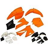 Plastic Fairing Fender Kit for KTM 50 SX 50 Junior 50cc SX (Black)