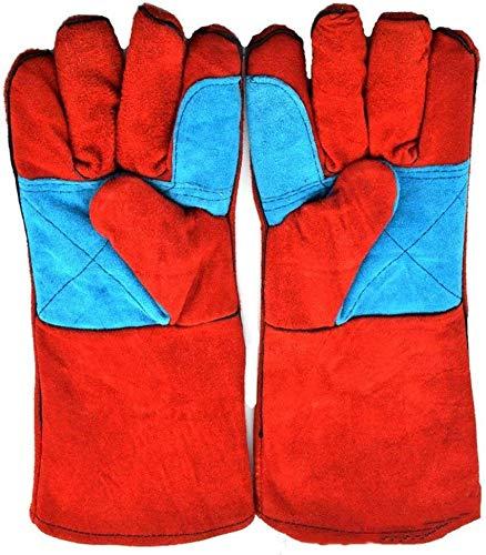 Parrilla de barbacoa eléctrica de los guantes rojos de sold
