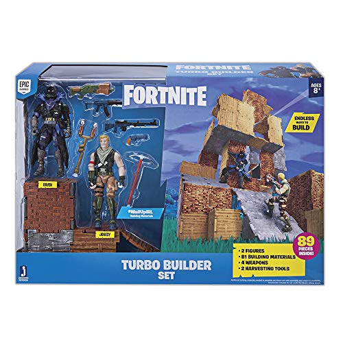 Jazwares Fortnite Figura+Set de Juego, Multicolor (FNT0036)