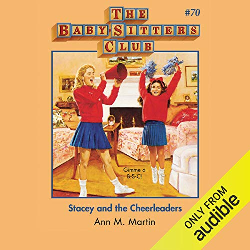 Stacey and the Cheerleaders audiobook cover art