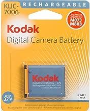 Kodak 3.7 Volt Li-Ion Rechargeable Digital Camera Battery - KLIC-7006
