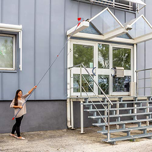 DEMA Dachrinnen- und Fassadenreiniger mit Teleskopstiel