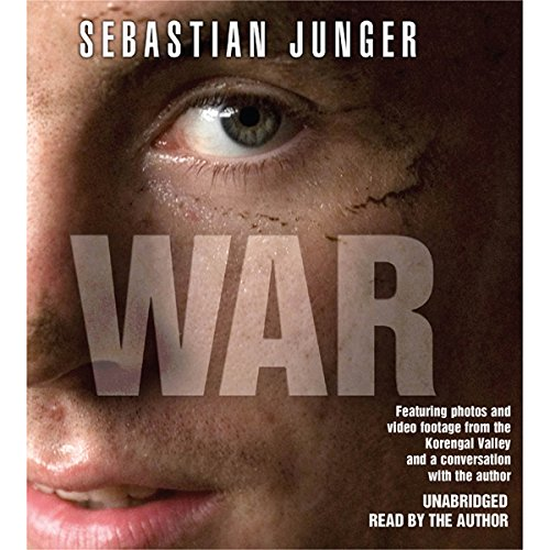 WAR audiobook cover art