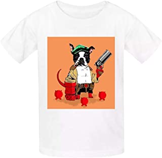 Aslgisy Child Summer Cotton Tee,Army Gas Mask Casual 3D Printed T-Shirt Short Sleeve for Kids Boys Girls