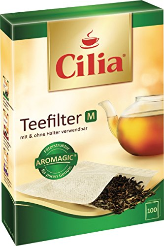 Melitta Cilia Filtros de té para Infusionar, 100 Unidades,