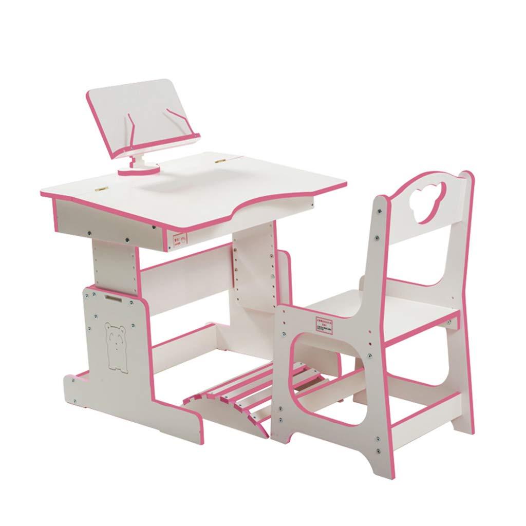 Xing Hua home Juegos de mesas y sillas Mesa de Estudio y Escritorio de Silla Mesa de Estudio de Estudiante en casa y Conjunto de Silla Mesa de Estar y combinación de