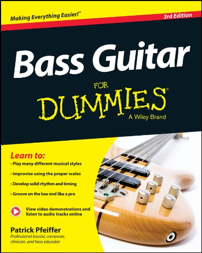 Bass Guitar For Dummies, Book + ...