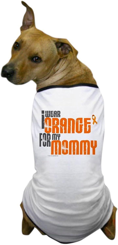 CafePress  I Wear orange For My Mommy 6 Dog TShirt  Dog TShirt, Pet Clothing, Funny Dog Costume