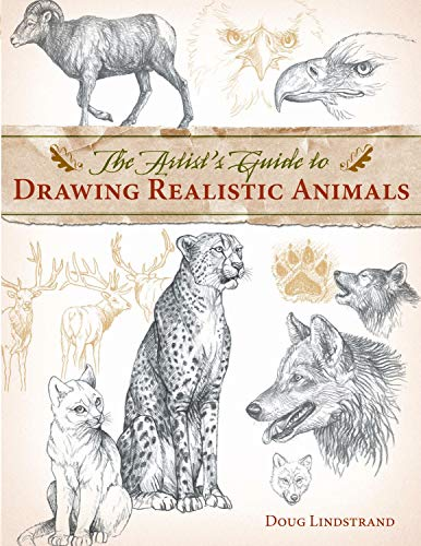 The artist's guide to drawing realistic animals  recommended books