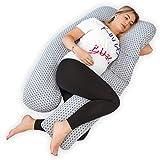 Kolbray®️ Almohada de Embarazo (Disponible en C y U) – Almohada de Maternidad de Cuerpo Pleno...