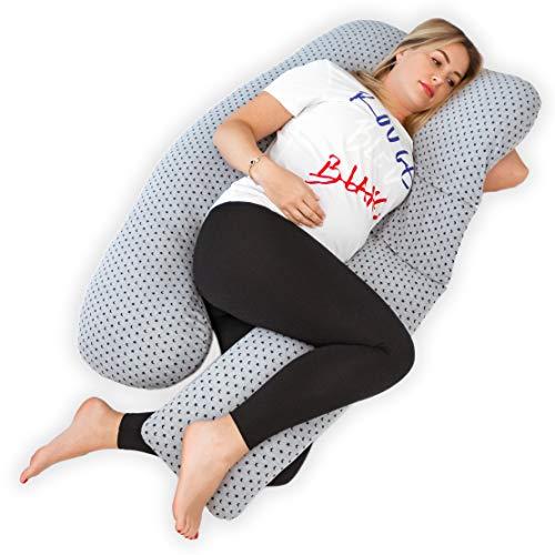 Kolbray® - Cuscino per Dormire in Gravidanza, Il Resto Mi Sembra Perfetto (Disponibile in C e U),...