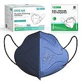 IDOIT Mascarillas ffp2 desechables 40 pcs mascarilla homologadas de 5 Capas de filtro certificado CE 2834 y EN 149:2001+A1:2009