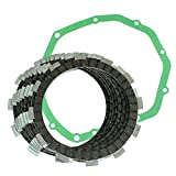 Caltric Clutch Friction Plates W/Gasket Compatible with Suzuki Gsf600S Gsf 600S Bandit 600 1996-2003