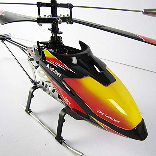 SSBH RC Helicopter, 2.4G Single Paddle 4 Channel Remote Control Large Helicopter With Gyroscope With...