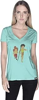 Creo Adnan Super Hero T-Shirt For Women - S