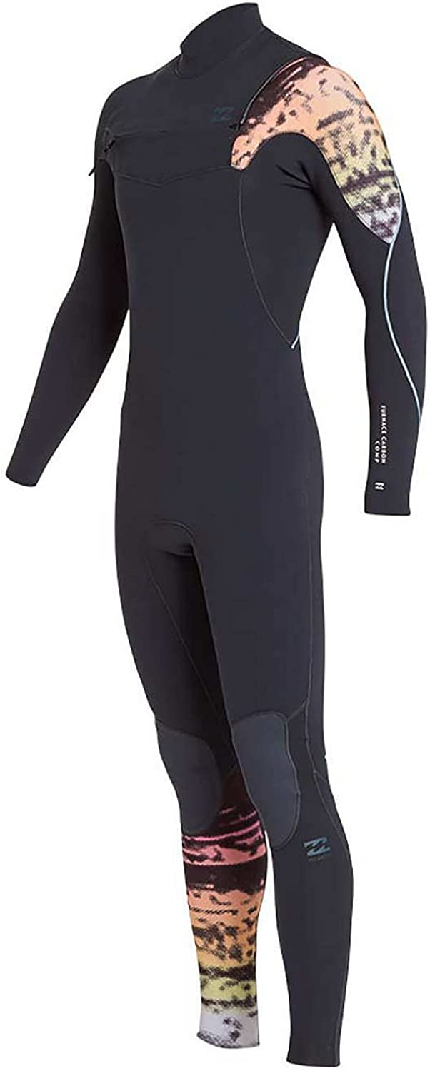 BILLABONG Furnace Carbon - Comp 3   2MM Chest Zip Wetsuit Grafit- Leicht Einfach Stretch Thermal Ofenausfütterung Dry B07CRYH9K7  Eleganter Stil