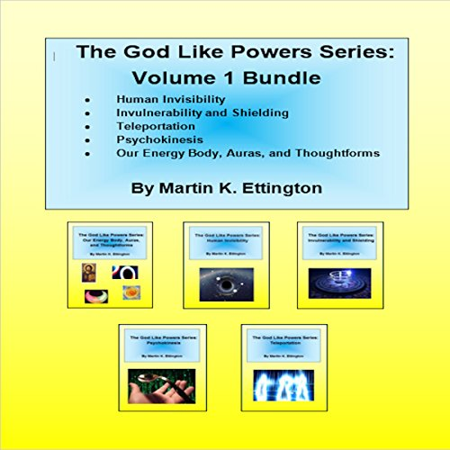 The God Like Powers Series: Volume 1 Bundle audiobook cover art