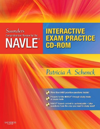 Download Saunders Comprehensive Review for the NAVLE® Board Review and Exam Practice Package, 1e 1416029281