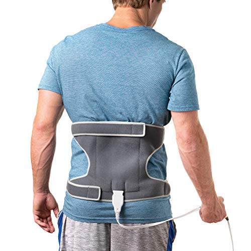 Pure Enrichment PureRelief Universal Joint and Muscle Heating Pad - Fast-Heating Technology with Cold Pack Therapy Option for Pain Relief and Injury Recovery - Ideal for Shoulder, Arm, Knee and Elbow