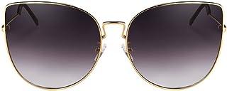 be859c0c5d DT Gafas graduadas de Las Mujeres Gafas de Sol de la protección  Ultravioleta de los vidrios