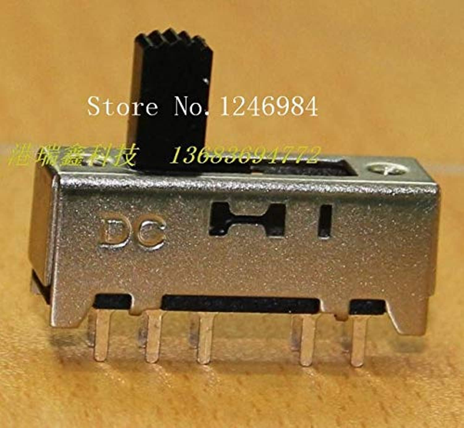 [SA]Small Electronic Switch Toggle Switch greenical Sliding Switch DC Power Fourth Gear Switch SS-24H03-100PCS LOT