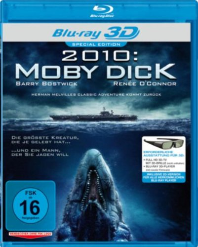 2010: Moby Dick 3D (Blu-ray), Real 3D, German Import