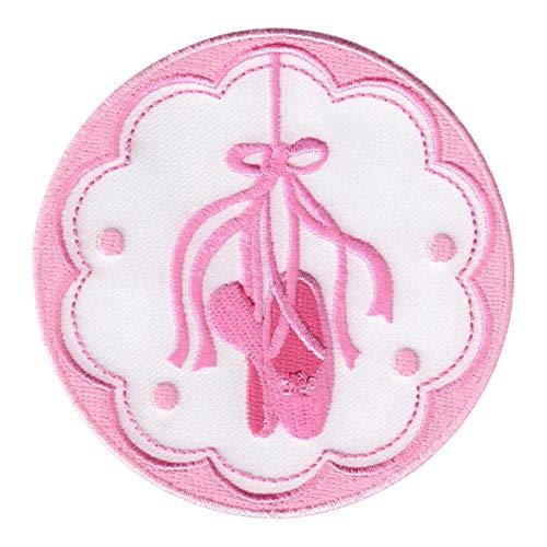 PatchMommy Ballettschuhe Patch Aufnäher Applikation Bügelbild Ballett Ballerina - zum Aufbügeln oder Aufnähen - für Kinder/Baby