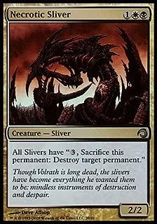Magic: the Gathering - Necrotic Sliver - Premium Deck Series: Slivers - Foil