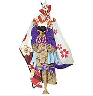【Blue Hope】陰陽師 雪女 覚醒後 月見之桜 コスプレ衣装 コスチューム (S)