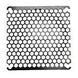 Coolerguys 92mm Honeycomb Black Metal Grill