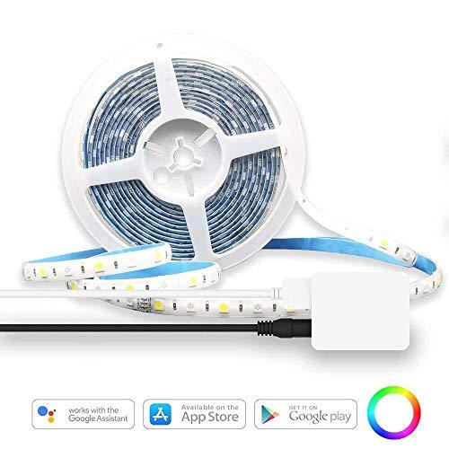 LED TV LED TV Lightlight Light - RGB LED TV Barra de luz de neón de TV 2M / 6.56 pies TV Suite de retroiluminación USB, equipada con control remoto 16 Color 5050 HDTV polarizado, adecuado for 40-60 TO