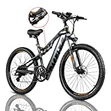 PASELEC Electric Bikes for Adult, Electric Mountain Bike,...