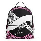 Pigeon Rose - Mochila escolar de lona, color rojo, gran capacidad, mochila de viaje, casual, para niños, niñas, niños y estudiantes, 3-9 años