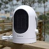 Mini ventilateur de chargement USB 600W hiver Mini électrique chaud Aéroconvecteur Remuer la tête de bureau Radiateur d'économie d'énergie des ménages, Plug-US (Blanc) Mode, la créativité, la tendance