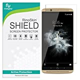 RinoGear ZTE Axon 7 (2016) Screen Protector Case Friendly Screen Protector for ZTE Axon 7 Accessory Full Coverage Clear Film